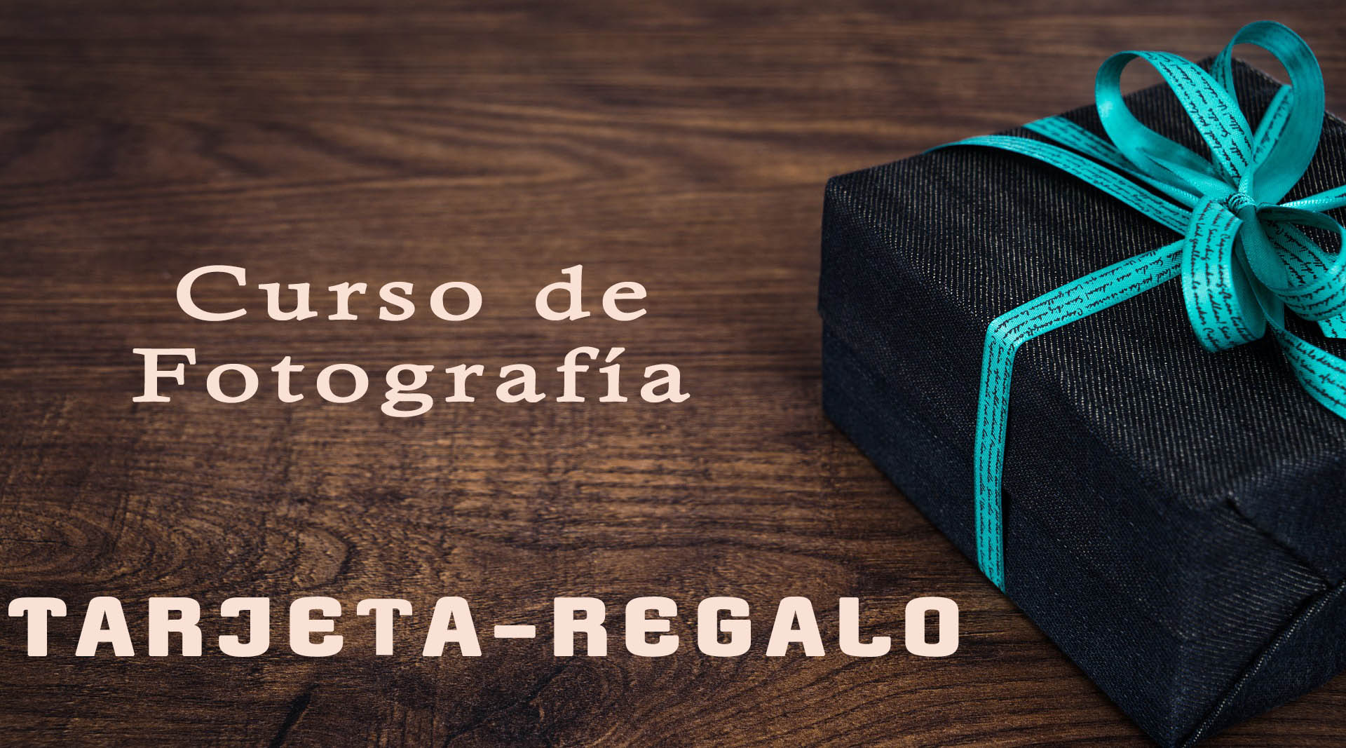REGALA CURSOS DE FOTOGRAFÍA